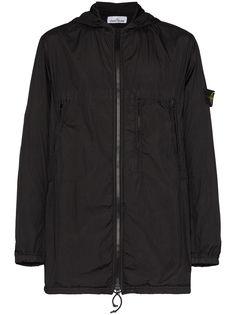 Stone Island куртка на молнии с капюшоном