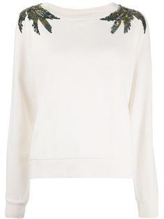 Patrizia Pepe sequin embellished sweatshirt