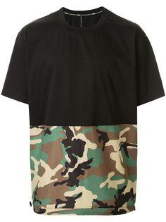 Blackbarrett футболка с камуфляжным принтом