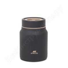 Пищевой термос rivacase bk food jar black, 0.5л 90331