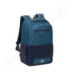 """Рюкзак rivacase steel laptop backpack blue/aquamarine, 15.6"""" 7767blue"""