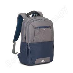"Рюкзак rivacase steel laptop backpack blue/grey, 17.3"" 7777"