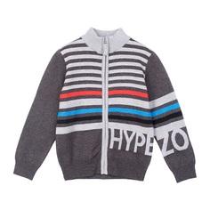 Кофта Play Today Hype street, цвет: серый/синий