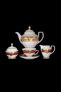 Чайный сервиз, 17 предметов Falkenporzellan
