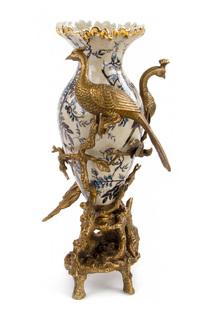 Ваза с птицами ГЛАСАР