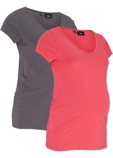 Футболки и блузки Футболка для будущих мам (2 штуки) Bonprix