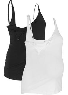 Футболки и блузки Топ для кормления (2 шт.), биохлопок Bonprix