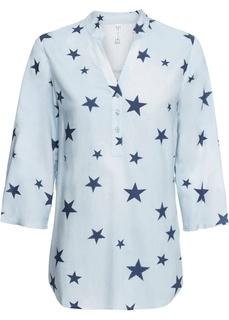 Блузки с длинным рукавом Блузка с V-вырезом Bonprix