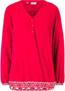 Блузки с длинным рукавом Блузка Bonprix