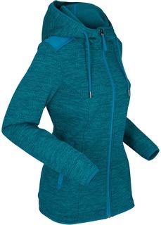 Флисовые куртки Куртка флисовая с вязаным верхом Bonprix