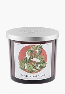 Свеча ароматическая Pernici Сандаловое дерево и Дуб, 200 г