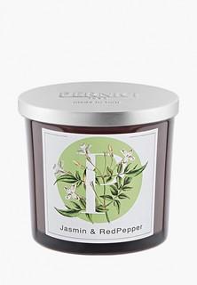 Свеча ароматическая Pernici Жасмин и Красный перец, 200 г