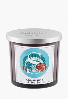 Свеча ароматическая Pernici Аквамарин и Морская соль, 200 г