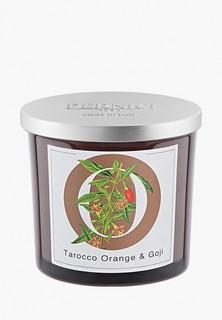 Свеча ароматическая Pernici Апельсин тарокко и Ягоды годжы, 200 г