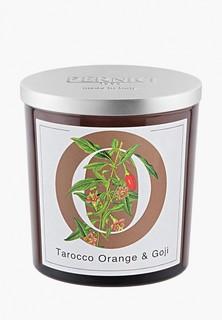Свеча ароматическая Pernici Апельсин тарокко и Ягоды годжы, 350 г