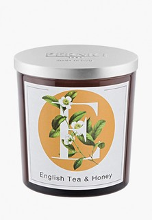 Свеча ароматическая Pernici Английский чай и Мед, 350 г