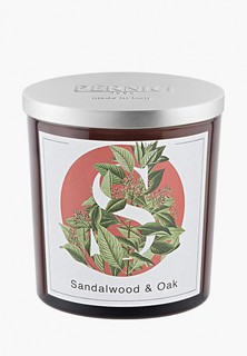 Свеча ароматическая Pernici Сандаловое дерево и Дуб, 350 г