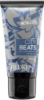 Redken, Краска тоник для волос ярких цветов City Beats Color Crem, 85 мл (12 тонов) Галактический Металлик