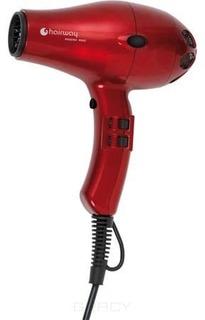 Hairway, Фен профессиональный Phoenix Ionic Compact красный 1800-2000W 03048