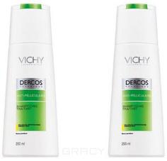 Vichy, Шампунь против перхоти для сухих волос Dercos, 200 мл*2 шт