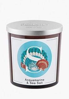 Свеча ароматическая Pernici Аквамарин и Морская соль, 350 г