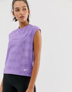 Фиолетовая майка Nike Air-Фиолетовый