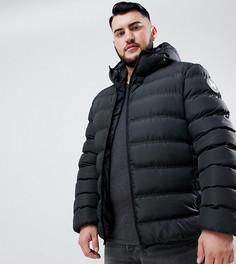Черная дутая куртка с капюшоном Good For Nothing эксклюзивно для ASOS-Черный