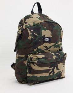 Рюкзак с камуфляжным принтом Dickies-Зеленый
