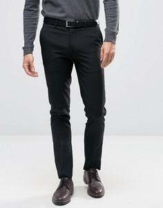 Черные брюки скинни River Island-Черный