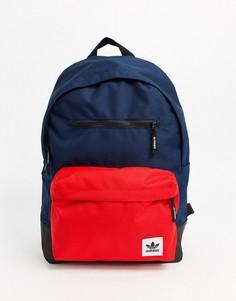 Темно-синий рюкзак с логотипом adidas Originals