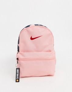 Розовый маленький рюкзак Nike