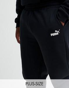 Черные джоггеры скинни Puma PLUS Essential 85175301-Черный