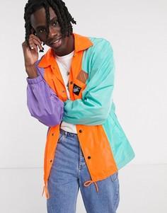 Спортивная куртка Vintage Supply-Фиолетовый