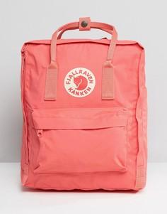 Классический розовый рюкзак Fjallraven Kanken