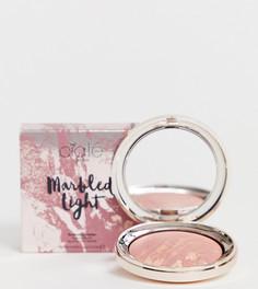 Румяна с блестящим эффектом Ciate London - Marbled Light (Halo) эксклюзивно для ASOS-Розовый Ciaté