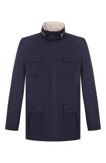 Куртка из смеси шерсти и льна Kiton