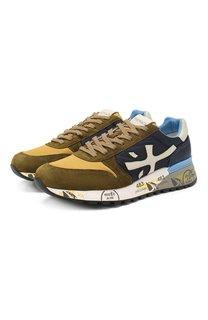 Комбинированные кроссовки Mick Premiata