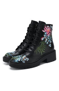Кожаные ботинки Pike Kenzo