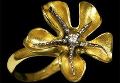 Золотое кольцо 11100 Ювелирное изделие