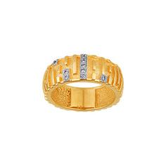 Золотое кольцо 00540RS Ювелирное изделие