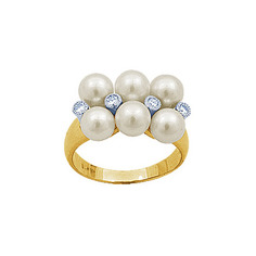 Золотое кольцо 90945RS Ювелирное изделие
