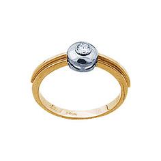 Золотое кольцо 71321RS Ювелирное изделие