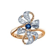 Золотое кольцо 17372RS Ювелирное изделие