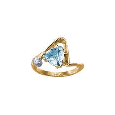 Золотое кольцо 18647RS Ювелирное изделие