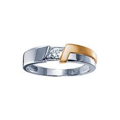 Золотое кольцо 71068RS Ювелирное изделие