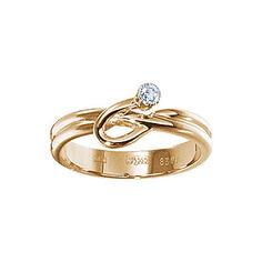 Золотое кольцо 17648RS Ювелирное изделие