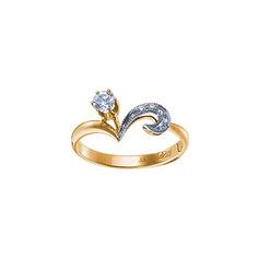 Золотое кольцо 15572RS Ювелирное изделие