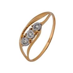 Золотое кольцо A1007102731 Ювелирное изделие