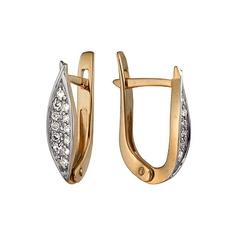 Золотые серьги A1000212873 Ювелирное изделие