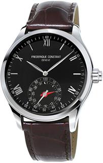 Швейцарские наручные мужские часы Frederique Constant FC-285B5B6. Коллекция Horological Smartwatch